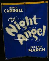 p025 NIGHT ANGEL cloth banner movie poster '31 Nancy Carroll