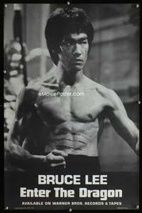 b058 ENTER THE DRAGON soundtrack movie poster '73 Bruce Lee