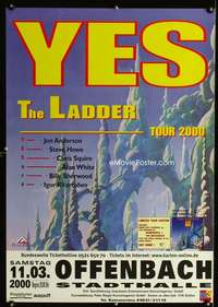 b057 YES THE LADDER TOUR 2000 German concert music poster '00