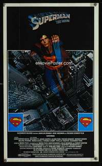 b068 SUPERMAN special Topps movie poster '78 Chris Reeve