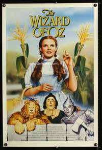 b067 WIZARD OF OZ special video movie poster R92 classic!