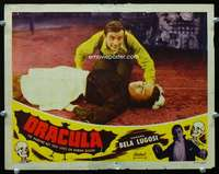 h352 DRACULA movie lobby card #6 R51 Dwight Frye, Tod Browning