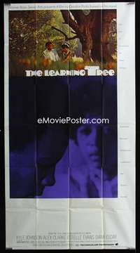 p402 LEARNING TREE int'l three-sheet movie poster '69 Gordon Parks directed!