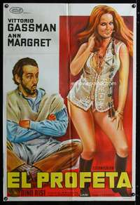 p763 MR KINKY Argentinean movie poster '68 Gassman, sexy Ann-Margret!