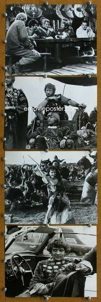 s026 ALFRED THE GREAT 39 8x10 movie stills '69 Hemmings, Michael York