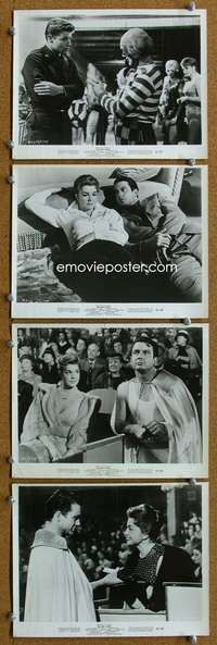 s269 BIG SHOW 8 8x10 movie stills '61 Esther Williams, circus!