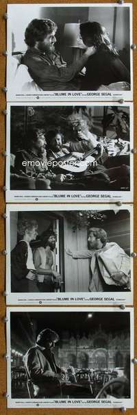 s210 BLUME IN LOVE 10 8x10 movie stills '73 George Segal, Anspach