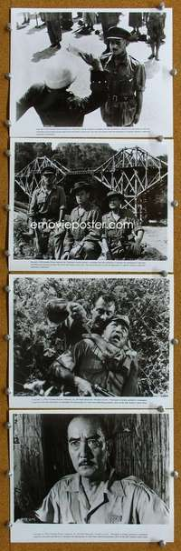 s041 BRIDGE ON THE RIVER KWAI 26 8x10 movie stills R74 William Holden