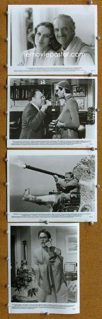 s074 CURSE OF THE PINK PANTHER 17 8x10 movie stills '83 David Niven