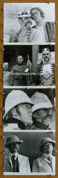 s027 MAN WHO WOULD BE KING 38 8x10 movie stills '75 Connery, Caine