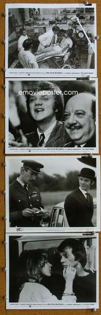 s005 O LUCKY MAN 104 8x10 movie stills '73 McDowell, Lindsay Anderson