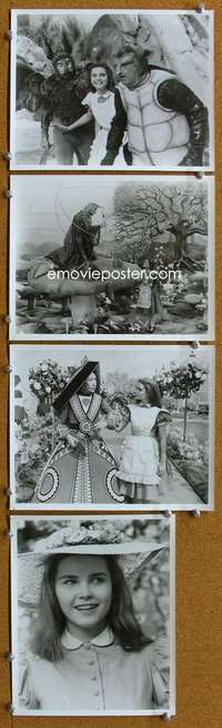 s205 ALICE'S ADVENTURES IN WONDERLAND 10 8x10 movie stills '72 live!