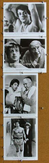 s055 ROCKY 21 8x10 movie stills '77 Sylvester Stallone, boxing!