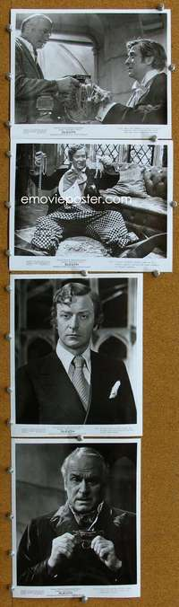 s071 SLEUTH 18 8x10 movie stills '72 Laurence Olivier, Michael Caine