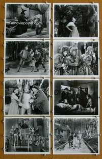 s010 WIZARD OF OZ 86 8x10 movie stills R74 all-time classic!