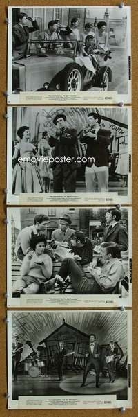 s335 WONDERFUL TO BE YOUNG 8 8x10 movie stills '62 Cliff Richard