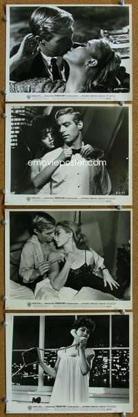 s344 YOUNGBLOOD HAWKE 8 8x10 movie stills '64 Franciscus, Pleshette