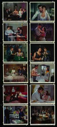 s411 ALL THE FINE YOUNG CANNIBALS 12 8x10 mini movie lobby cards '60 Natalie Wood
