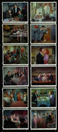 s412 ASK ANY GIRL 12 8x10 mini movie lobby cards '59 David Niven, Shirley MacLaine