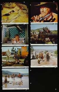 s583 BIG JAKE 7 8x10 mini movie lobby cards '71 John Wayne, Boone