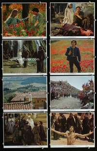 s502 BROTHER SUN SISTER MOON 8 8x10 mini movie lobby cards '73 Zeffirelli