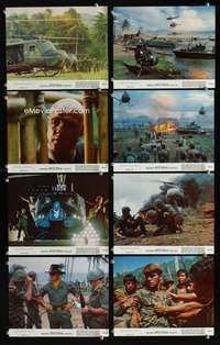 s488 APOCALYPSE NOW 8 8x10 mini movie lobby cards '79 Coppola