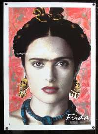 d200 FRIDA linen one-sheet movie poster '02 Salma Hayek is Frida Kahl