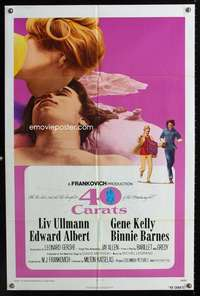 k007 40 CARATS one-sheet movie poster '73 Liv Ullmann, Edward Albert