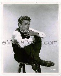t079 EAST OF EDEN 8x10 movie still '55 James Dean c/u by Bert Six!
