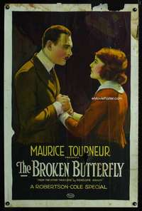 n047 BROKEN BUTTERFLY one-sheet movie poster '19 cool stone litho!