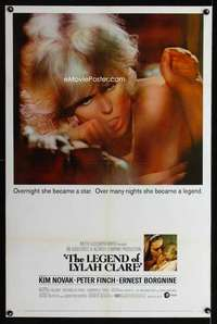 n037 LEGEND OF LYLAH CLARE one-sheet movie poster '68 sexiest Kim Novak!