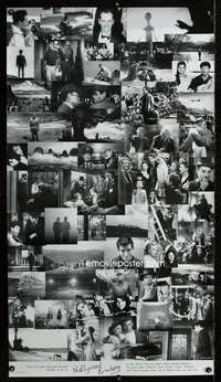 n006 HOLLYWOOD ENDING special 28x50 movie poster '02 classic scenes!