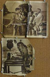 z040 ADORABLE SAVAGE 2 movie lobby cards '20 Edith Roberts rescued!