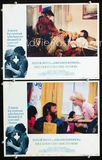 z052 ALICE DOESN'T LIVE HERE ANYMORE 2 movie lobby cards '75 Burstyn