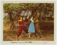 d013 WIZARD OF OZ color glos movie 8x10 still '39tree gets Dorothy!