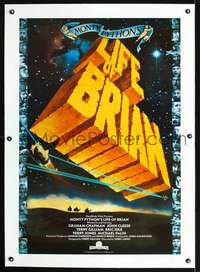 d061 LIFE OF BRIAN int'l 1sh '79 Monty Python, he's not the Messiah, he's just a naughty boy!