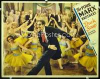 d030 DUCK SOUP lobby card movie poster '33 most classic Groucho Marx image!