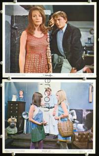 y536 BLOWUP 2 color 8x10 movie stills '67 Antonioni,Hemmings,Redgrave