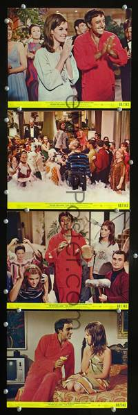 y472 PARTY 4 color 8x10 movie stills '68 Peter Sellers, Blake Edwards