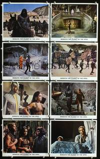 y003 BENEATH THE PLANET OF THE APES 8 English Front of House movie lobby cards '70