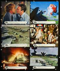 y020 BATTLE OF BRITAIN 6 English Front of House movie lobby cards '69 Plummer