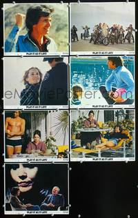 y317 PLAY IT AS IT LAYS 7 color 8x10 movie stills '72 Tuesday Weld