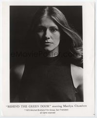 1b020 BEHIND THE GREEN DOOR 8x10 still '72 great close sexy portrait of innocent Marilyn Chambers!