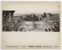 1b022 BEN-HUR 8x10 movie still '60 incredible CinemaSCope image of chariot race!