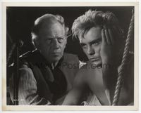 1b024 BILLY BUDD 8x10 movie still '62 great close up image of Terence Stamp & Melvyn Douglas!