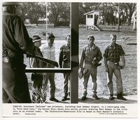 1b057 COOL HAND LUKE 8x9.5 movie still '67 Paul Newman and others arrive in the camp!