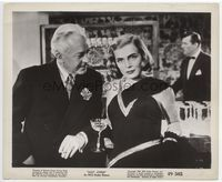 1b071 EASY LIVING 8.25x10 still '49 close up of sexy Lizabeth Scott in evening gown with Art Baker!