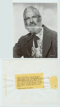 1b073 EL PASO 7.25x9 movie still '49 great close portrait of Gabby Hayes all dressed up!