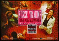 1e038 SUSSE TRAUME Austrian '02 film festival of Slovenian movie poster movies!