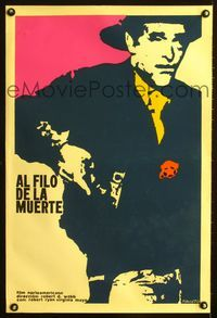1e054 PROUD ONES Cuban movie poster '70 cool artwork of sheriff Robert Ryan by Niko!